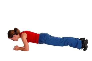 Träningsprogram 1 för att bygga muskler hemma